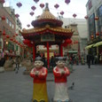 神戸の中華街にて